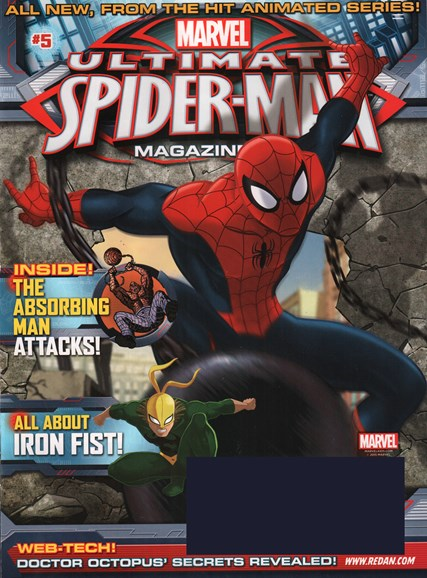 Marvel Spider-Man Cover - 9/1/2015