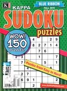 Blue Ribbon Kappa Sudoku Puzzles Magazine 9/1/2015