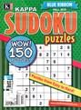 Blue Ribbon Kappa Sudoku Puzzles Magazine | 9/2015 Cover