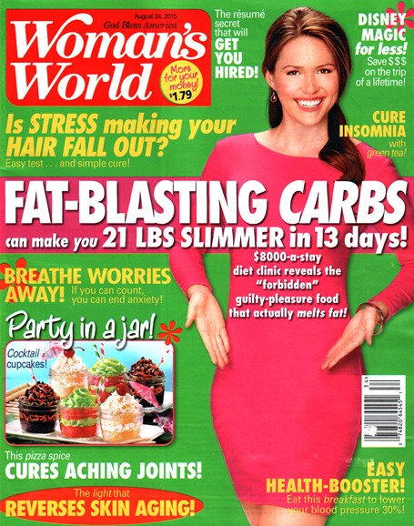 Woman's World Cover - 8/24/2015