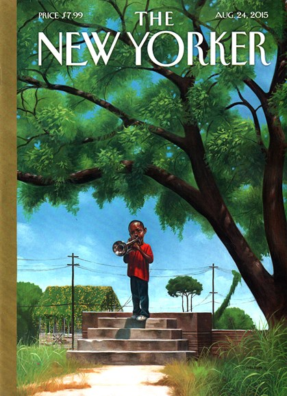 The New Yorker Cover - 8/24/2015