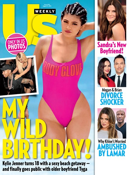 Us Weekly Cover - 8/31/2015