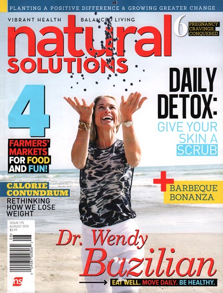 Natural Solutions Cover - 8/1/2015