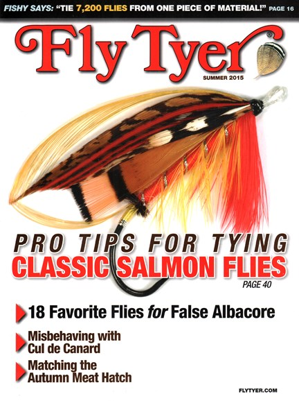 Fly Tyer Cover - 8/1/2015