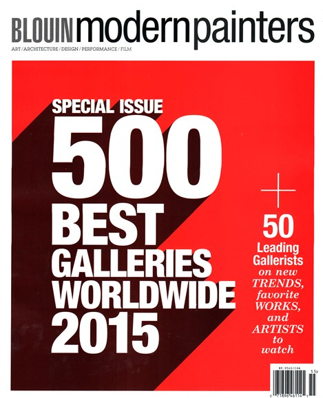 Blouin Modern Painters Cover - 9/1/2015