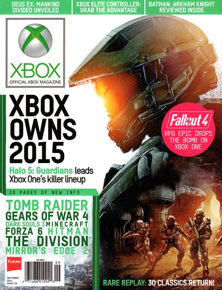 Official Xbox Magazine Cover - 9/1/2015