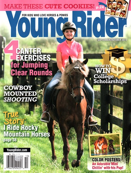 Young Rider Cover - 9/1/2015