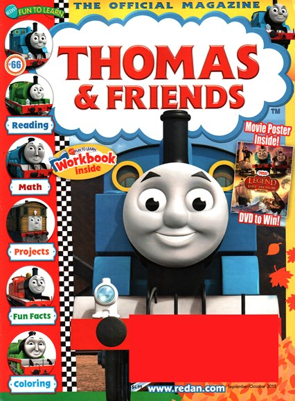 Thomas & Friends Cover - 9/1/2015