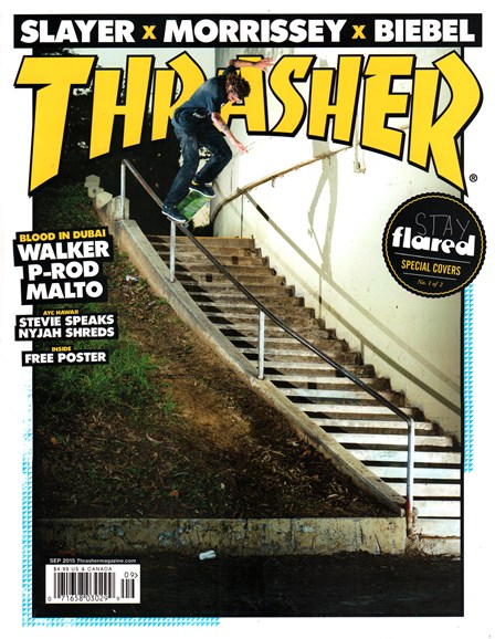 Thrasher Cover - 9/1/2015