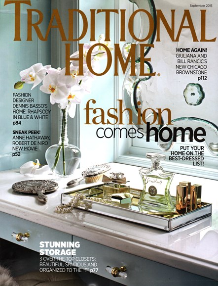 Traditional Home Cover - 9/1/2015