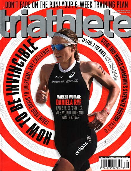 Triathlete Cover - 9/1/2015