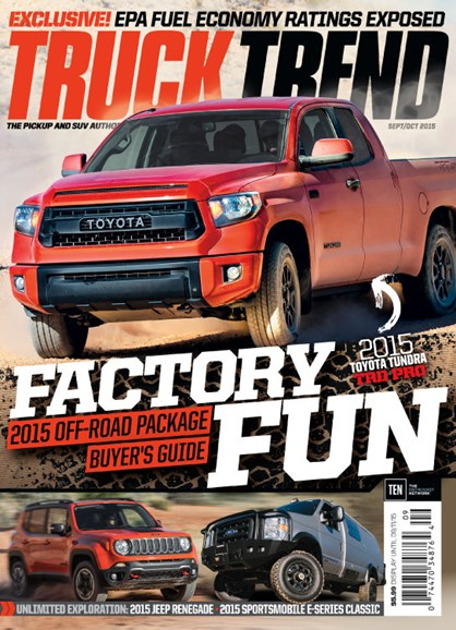 Truck Trend Cover - 9/1/2015