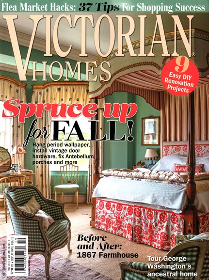 Victorian Homes Cover - 9/1/2015