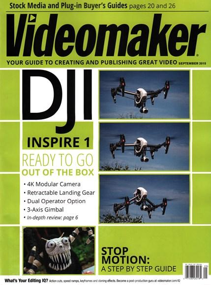 Videomaker Cover - 9/1/2015
