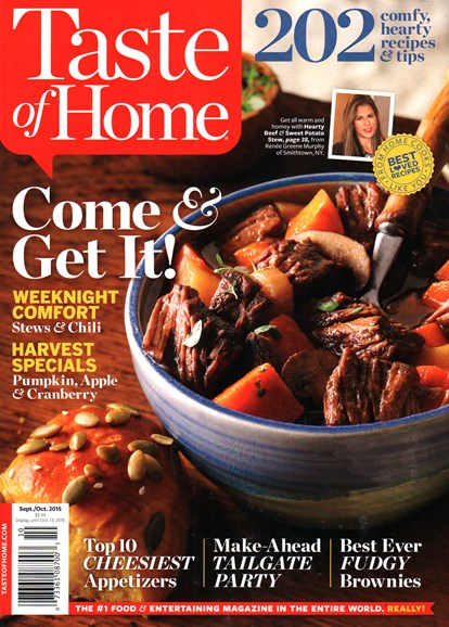 Taste of Home Cover - 9/1/2015