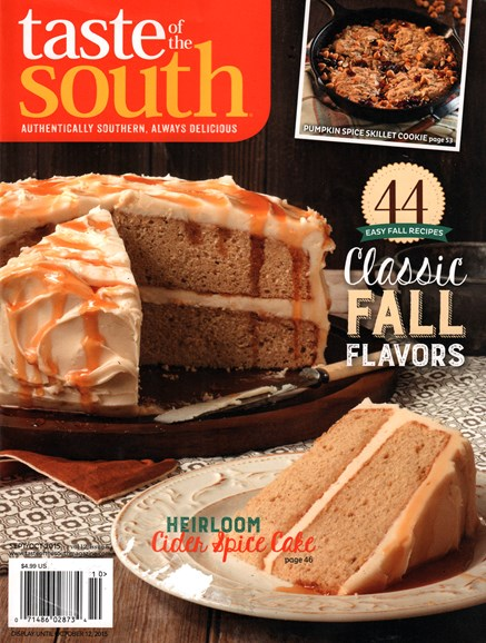 Taste of the South Cover - 9/1/2015