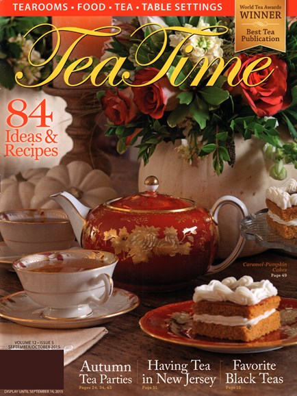 Tea Time Cover - 9/1/2015