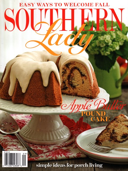Southern Lady Cover - 9/1/2015