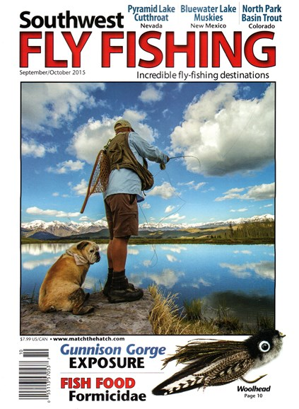 Southwest Fly Fishing Cover - 9/1/2015