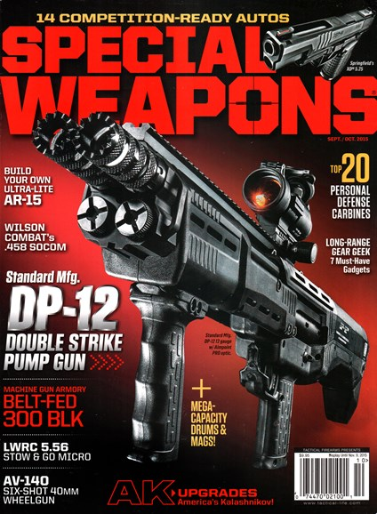 Special Weapons for Military & Police Cover - 9/1/2015