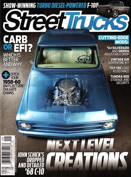 Street Trucks Cover - 9/1/2015
