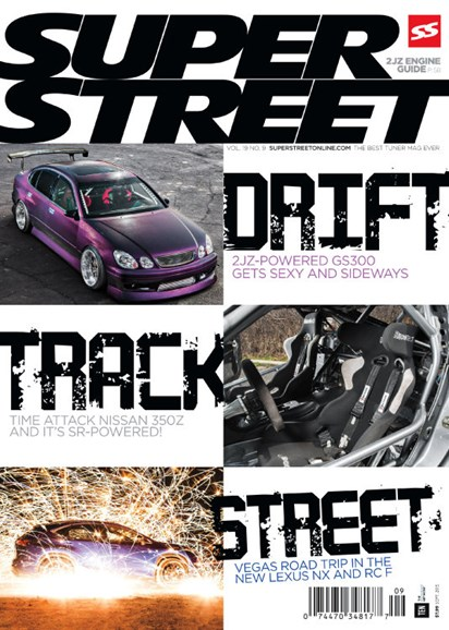 Super Street Cover - 9/1/2015