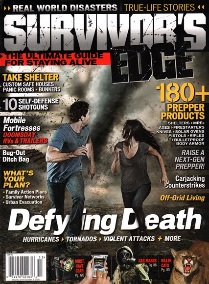 Survivor's Edge Cover - 9/1/2015