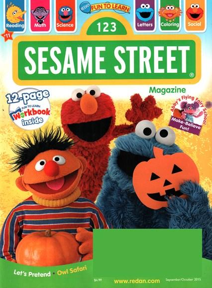 Sesame Street Cover - 9/1/2015