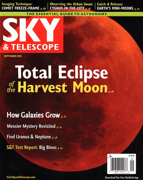 Sky & Telescope Cover - 9/1/2015