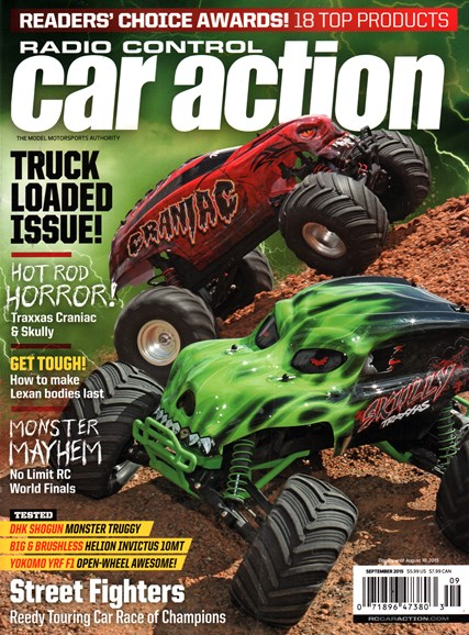 Radio Control Car Action Cover - 9/1/2015