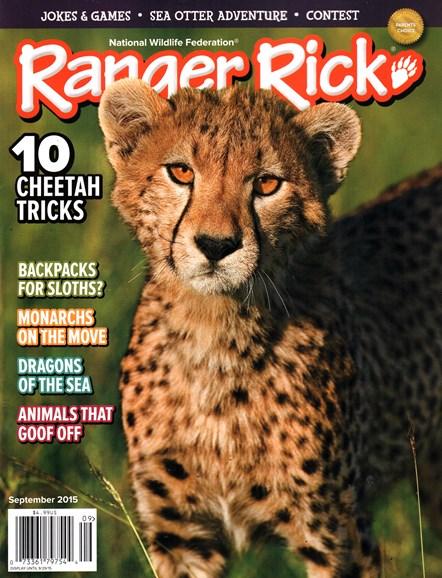 Ranger Rick Cover - 9/1/2015
