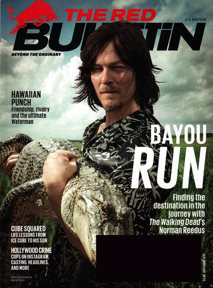 The Red Bulletin Cover - 9/1/2015