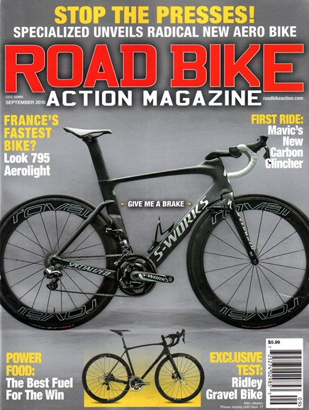 Road Bike Action Cover - 9/1/2015