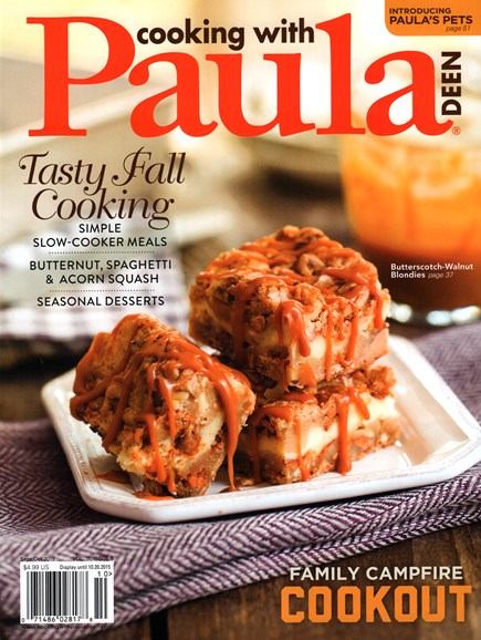 Cooking With Paula Deen Cover - 9/1/2015