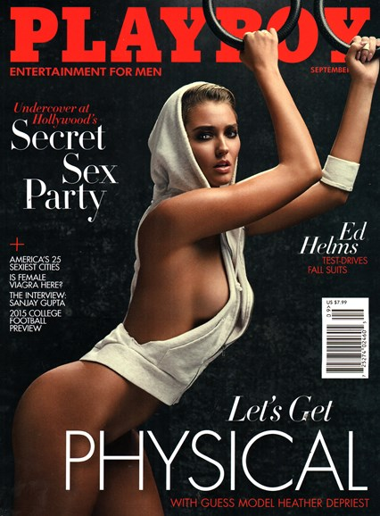 Playboy Cover - 9/1/2015