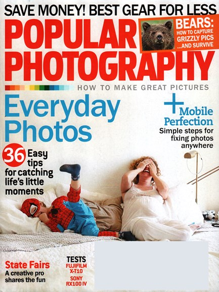 Popular Photography Cover - 9/1/2015