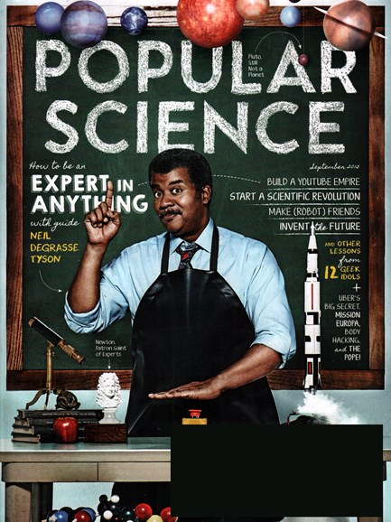 Popular Science Cover - 9/1/2015