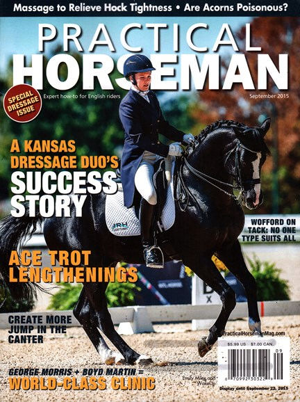 Practical Horseman Cover - 9/1/2015