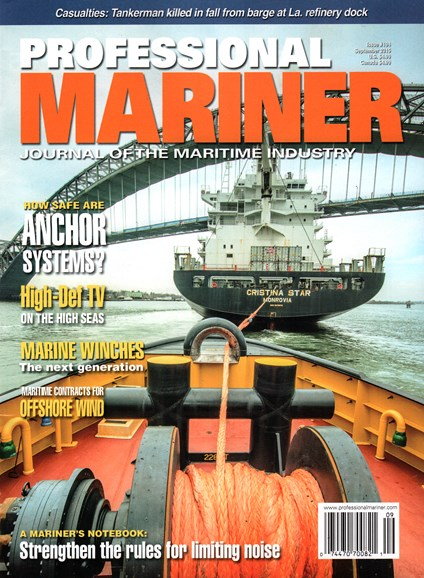 Professional Mariner Cover - 9/1/2015