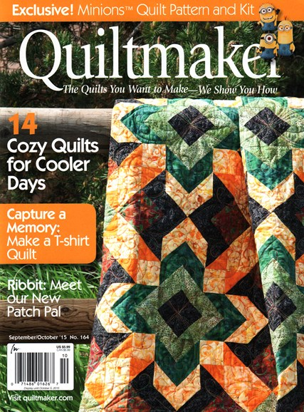 Quiltmaker Cover - 9/1/2015