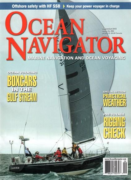 Ocean Navigator Cover - 9/1/2015