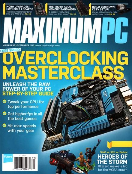 Maximum PC Cover - 9/1/2015