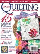 Mccall's Quilting Magazine 9/1/2015