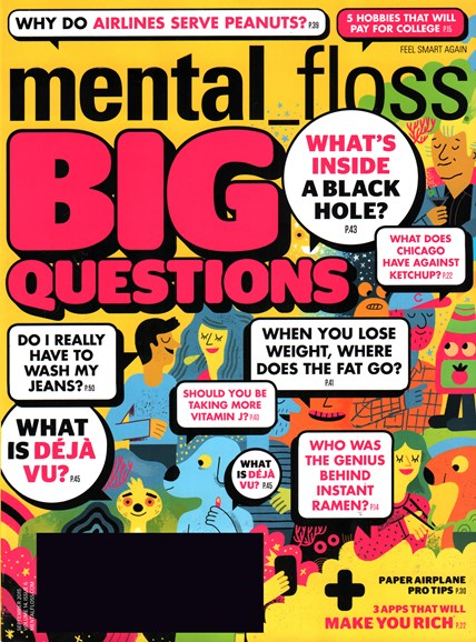Mental Floss Cover - 9/1/2015
