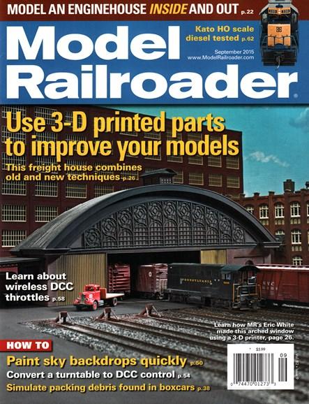 Model Railroader Cover - 9/1/2015