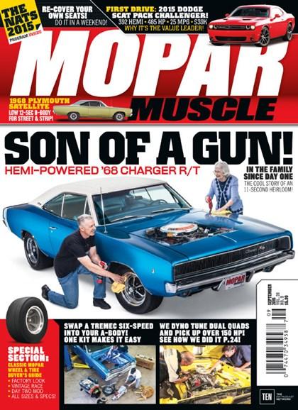 Mopar Muscle Cover - 9/1/2015