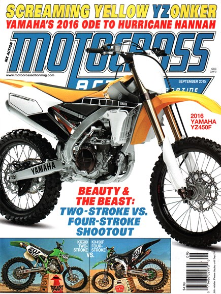Motocross Action Cover - 9/1/2015