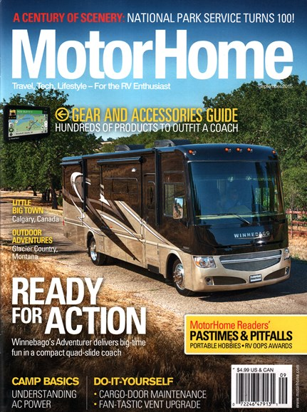 MotorHome Cover - 9/1/2015