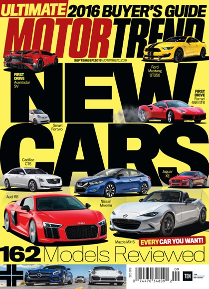 Motor Trend Cover - 9/1/2015