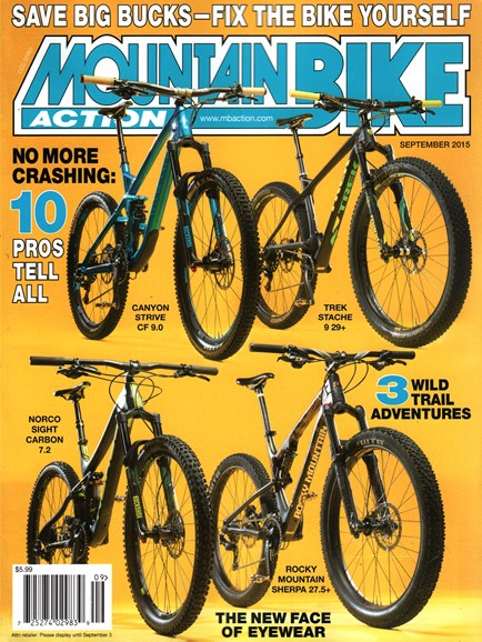 Mountain Bike Action Cover - 9/1/2015